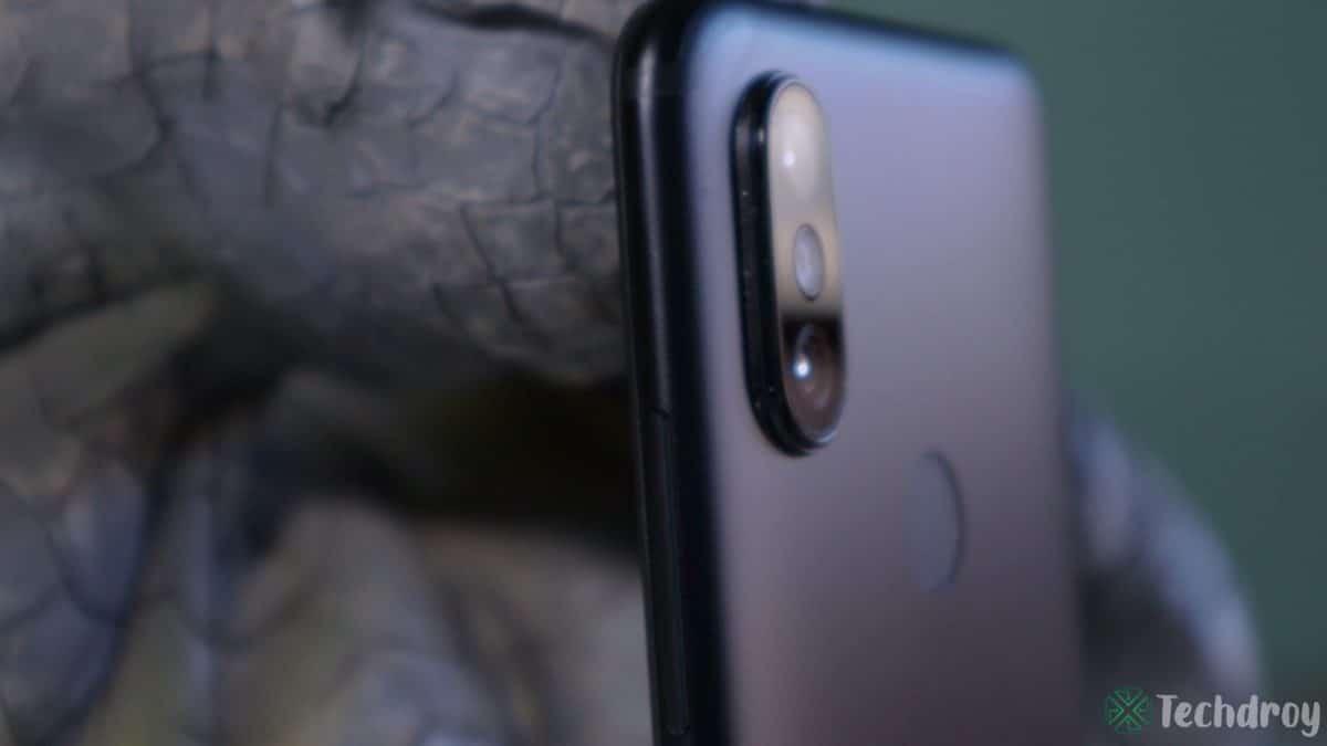 Xiaomi Mi A2 camaras desenfoque