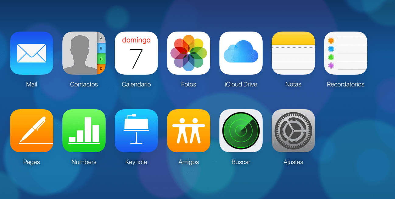 iCloud iPhone restaurar contactos