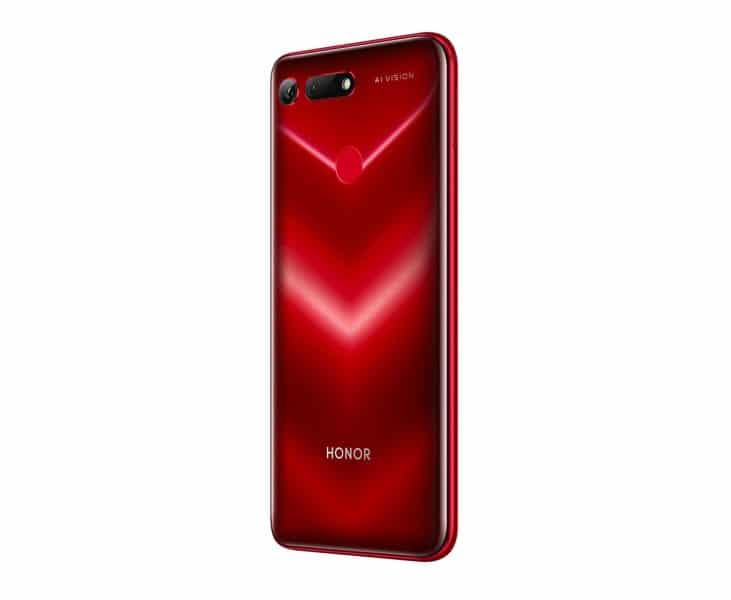 Honor View 20 rojo