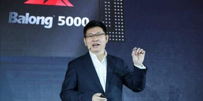 Huawei Balong 5000 chip 5G