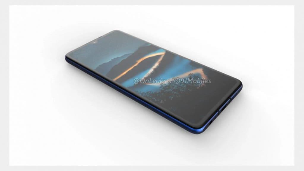 Huawei P30 render 4