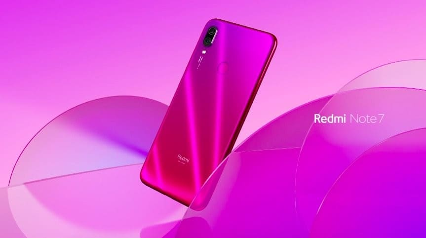 Redmi Note 7 rosa by Xiaomi