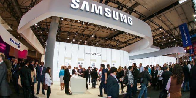Samsung stand MWC