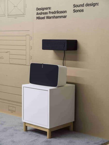 Symfonisk Ikea y Sonos altavoces en muebles