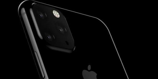 iPhone 2019 con triple camera