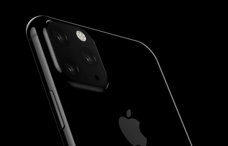 iPhone 2019 con triple camera