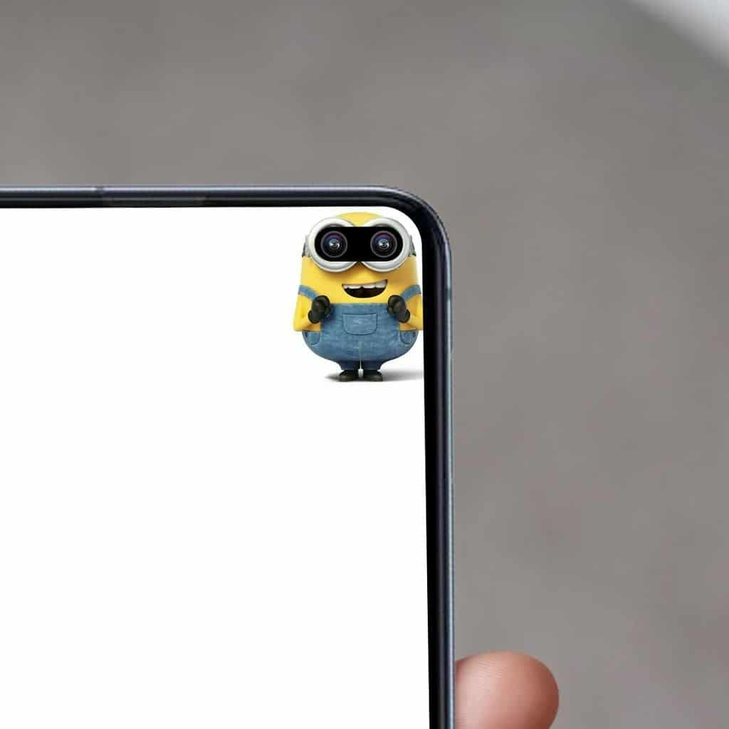 Fondo de pantalla Galaxy S10+ Minion