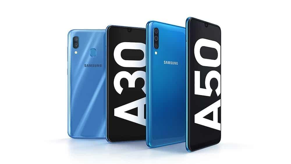 Galaxy A30 y Galaxy A50 de Samsung