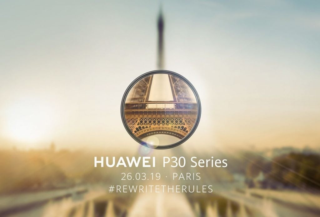 Huawei P30 presntación