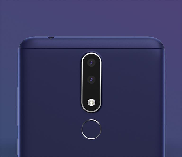 Nokia 3.1 Plus camara trasera