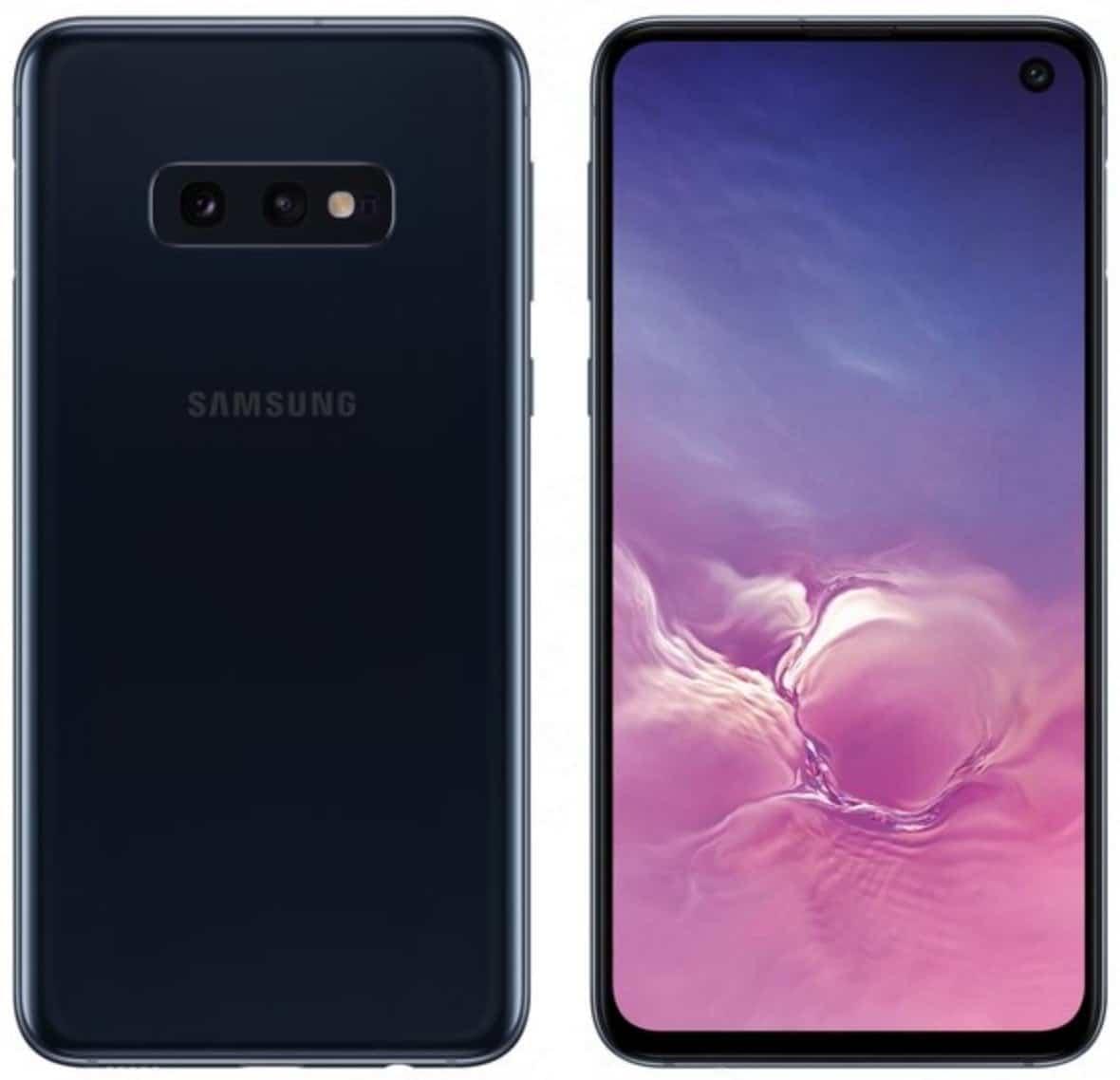 Samsung Galaxy S10e color azul