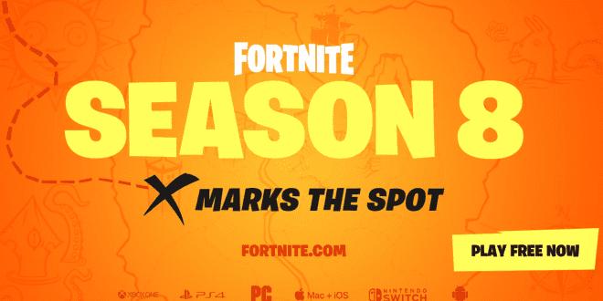 Temporada 8 Fortnite portada