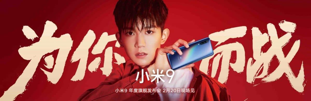 Xiaomi Mi 9 presentación
