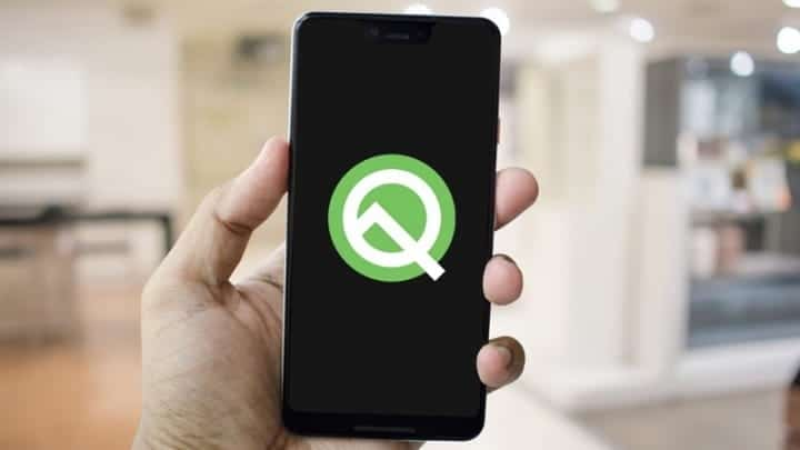 Android-Q-logo-smartphone