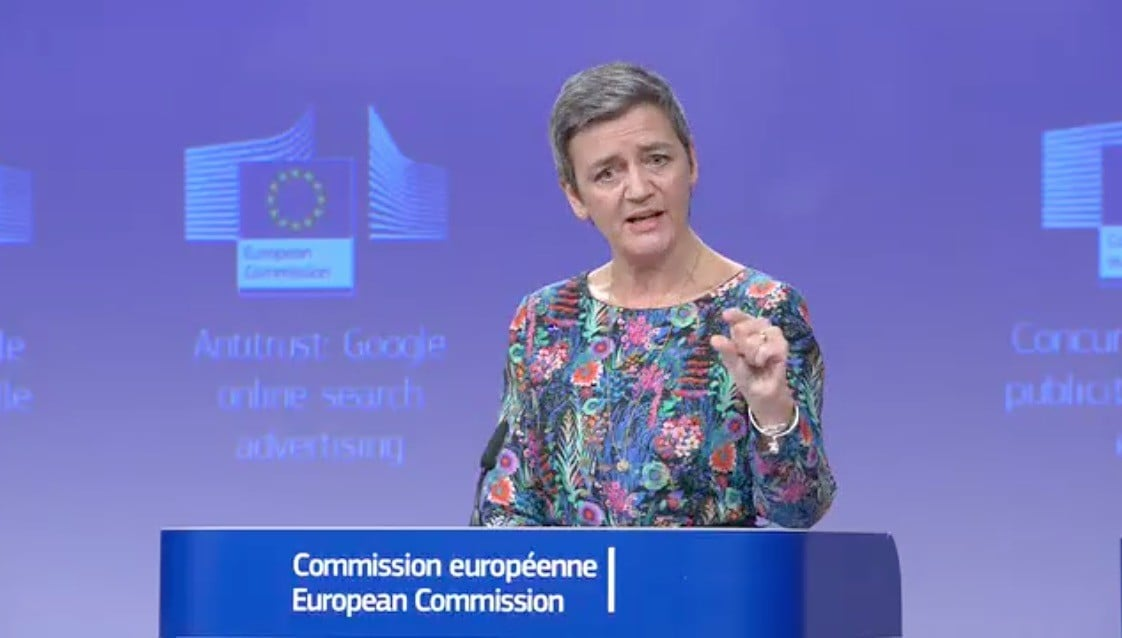 Comisión de la Unión Europea multa a Google