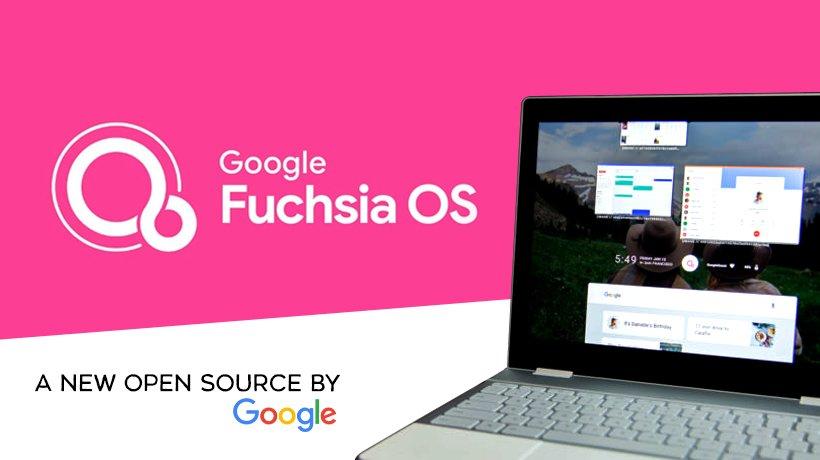 FuchsiaOS sistema operativo de Google