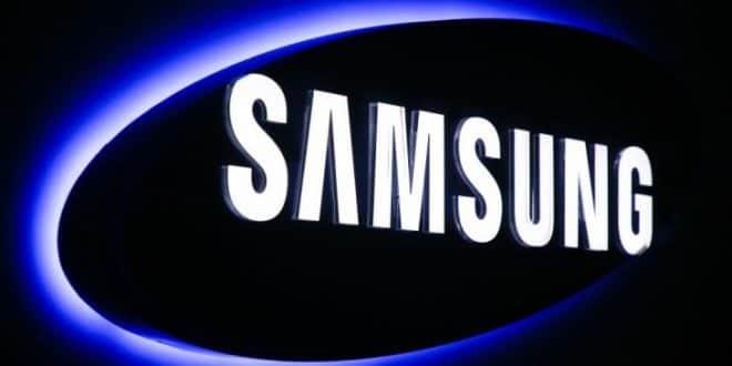 Samsung logo banner