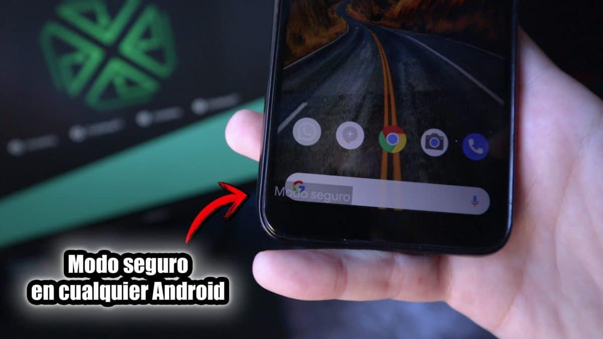 Modo seguro en cualquier dispositivo Android portada