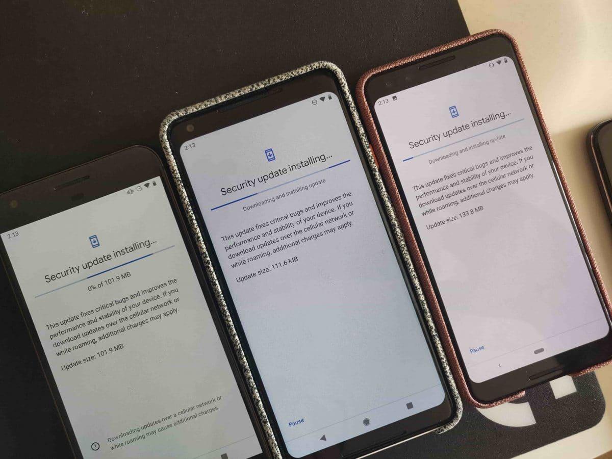 Parche de seguridad Google Pixel marzo 2019