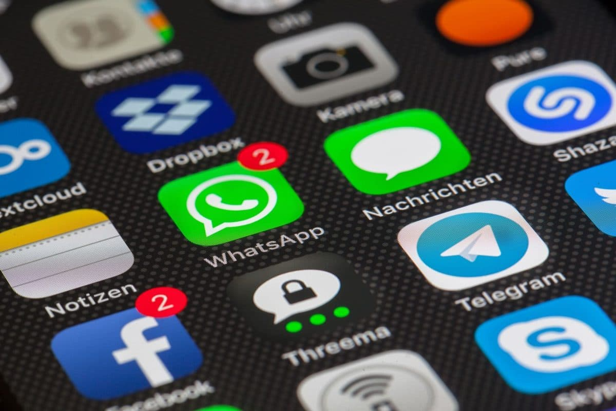 Aplicaciones de mensajeria WhatsApp