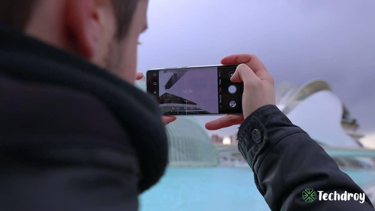 Huawei P30 Pro fotografia 50x