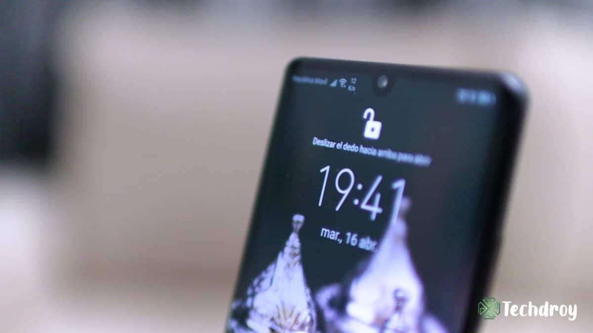 Huawei P30 Pro reconocimiento facial