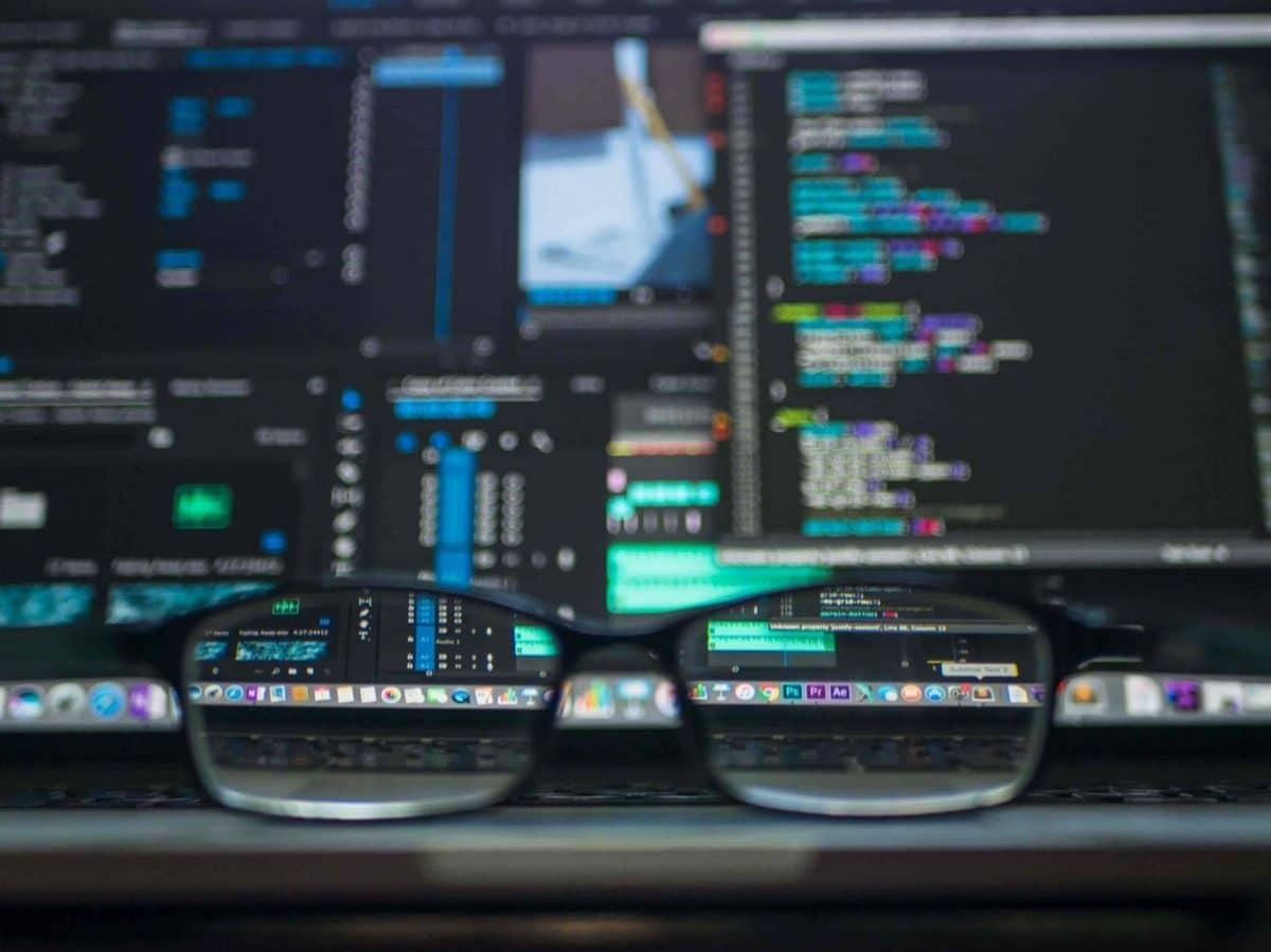 Programación gafas con código blur