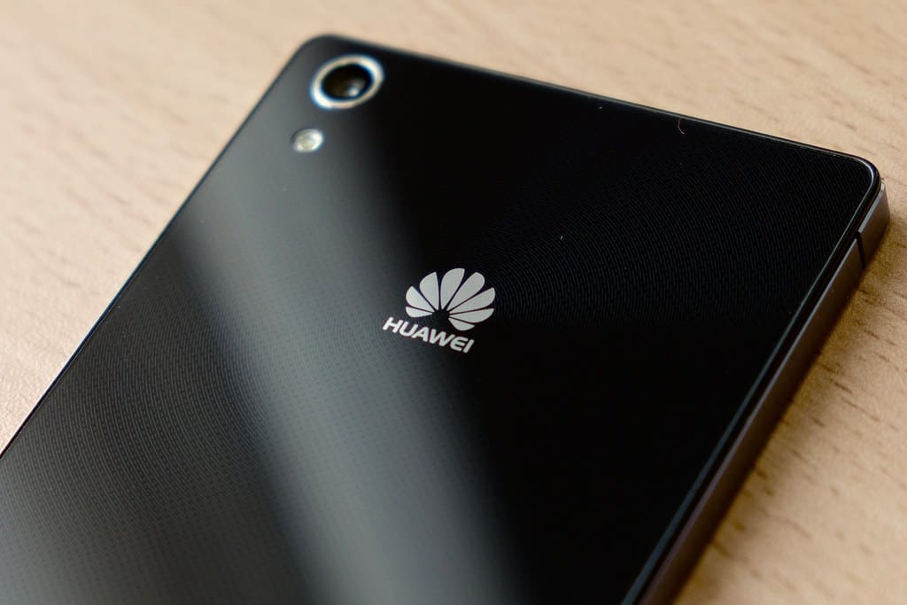 Logo Huawei smartphone antiguo