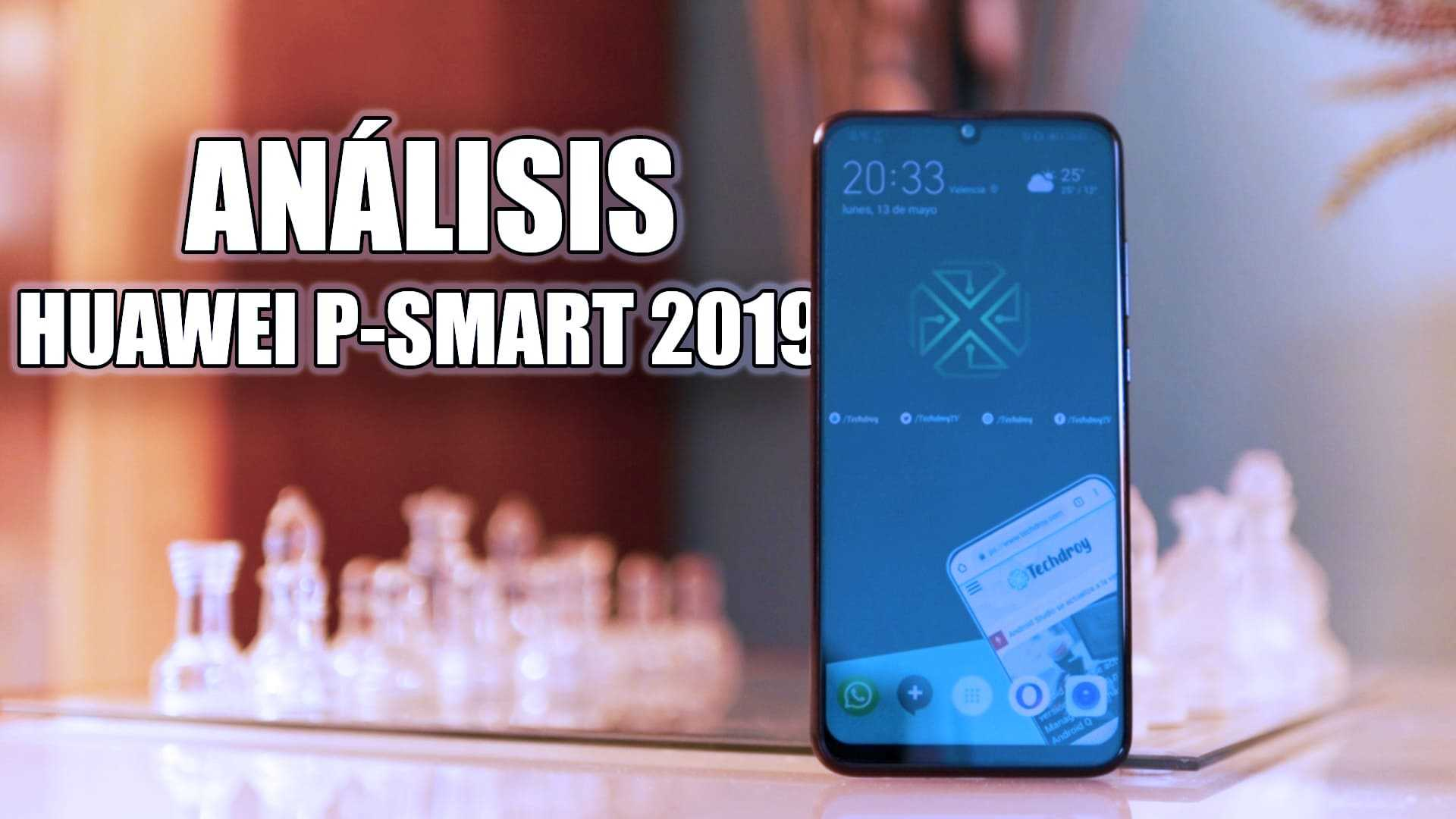 Portada analisis Huawei P Smart 2019