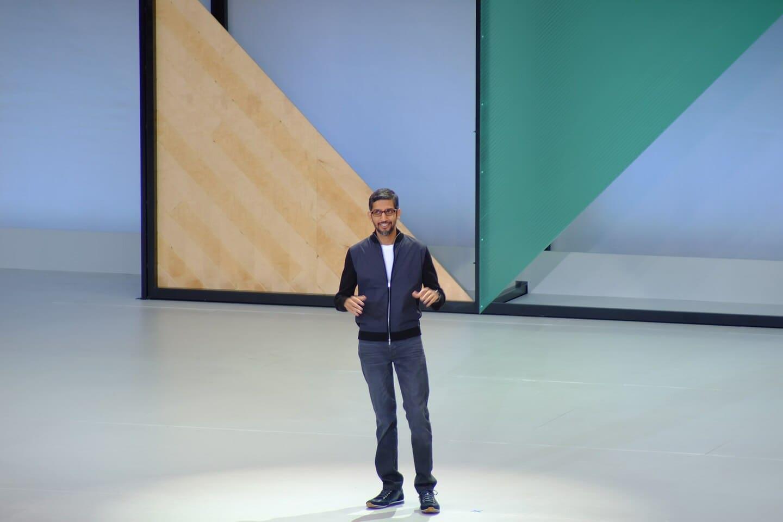 Sundar Pichai GoogleIO 2017