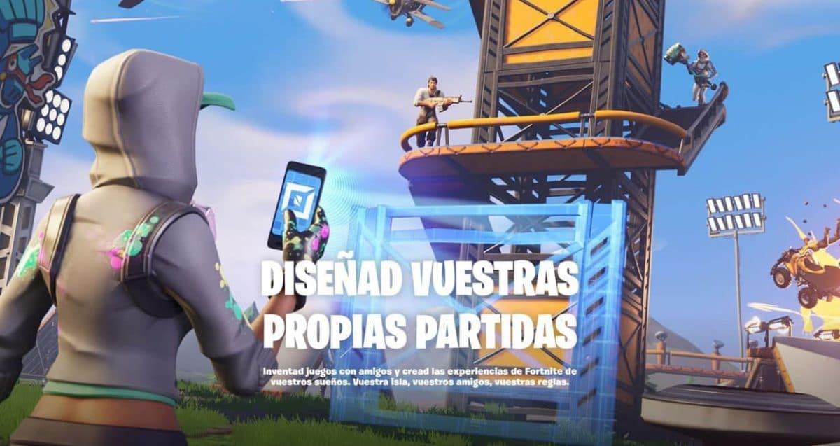 Como-ir-isla-Battle-Royale-modo-creativo-Fortnite