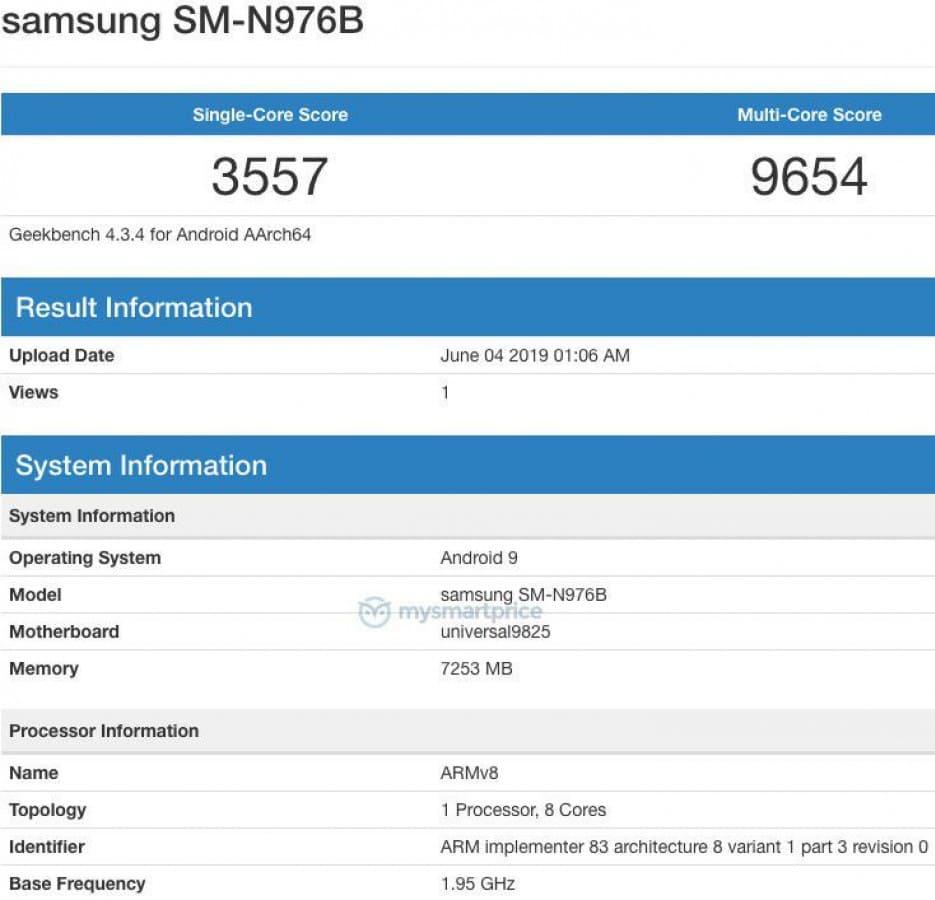 Samsung-Galaxy-Note10-benchmark-Geekbench