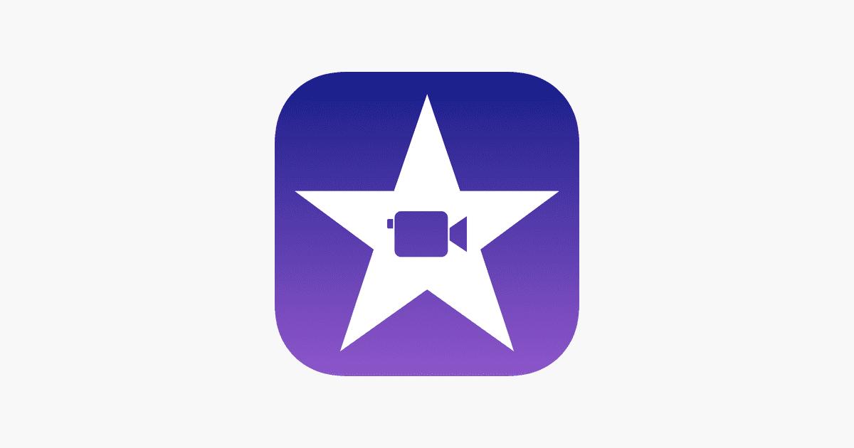 iMovie logotipo banner