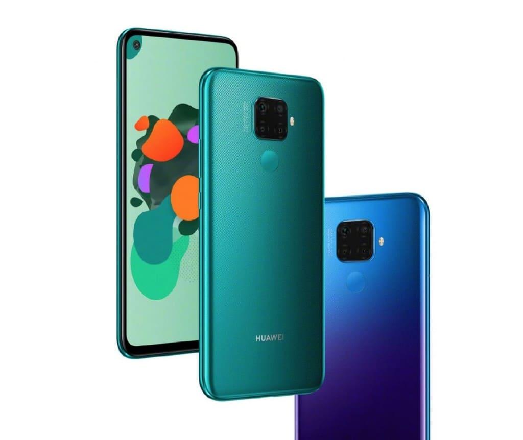 Huawei Mate 30 Lite colores