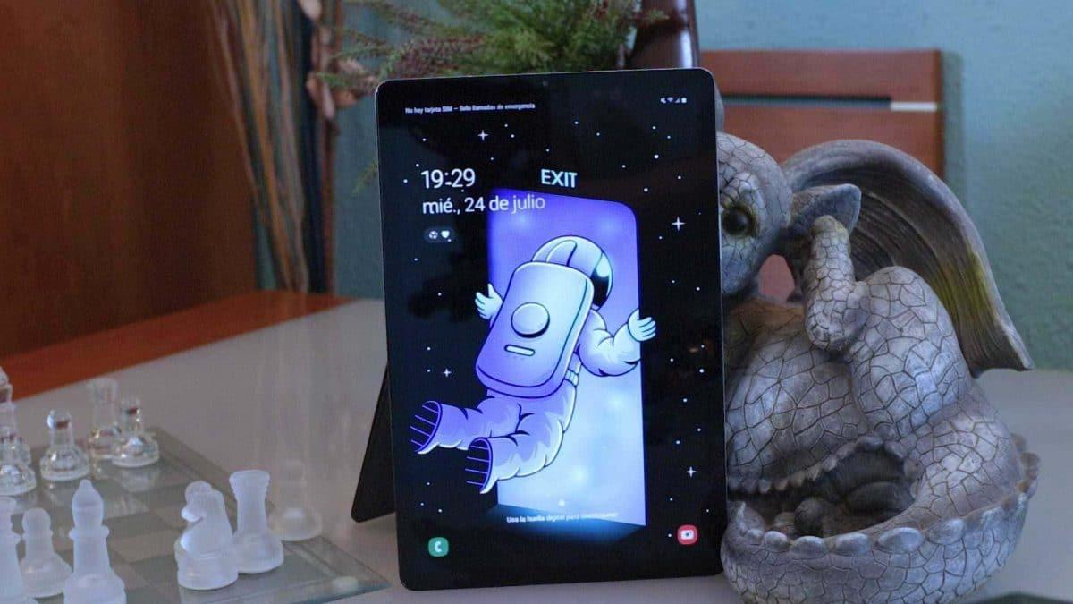 Pantalla vertical Galaxy Tab S5e