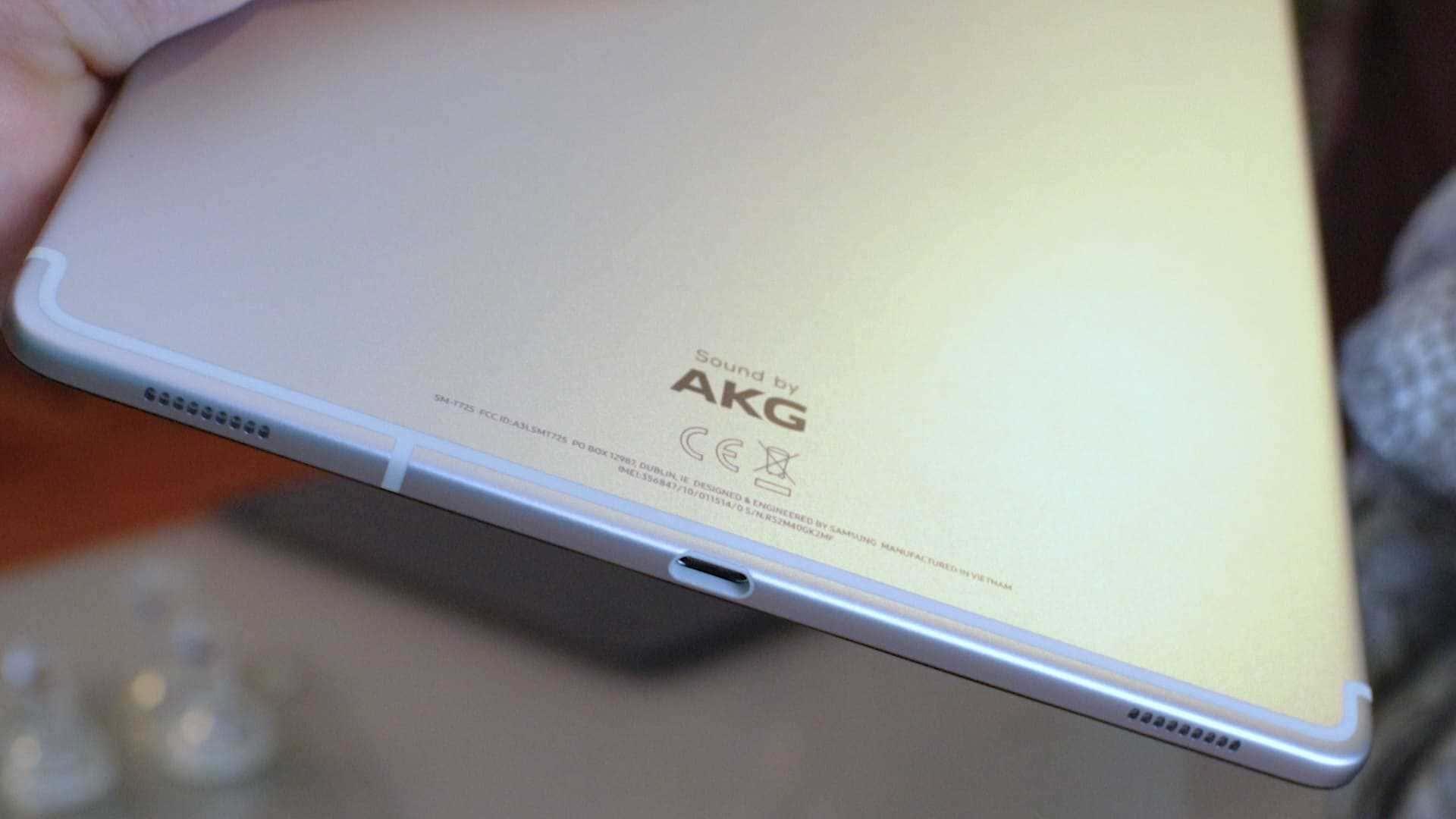 Sonido-AKG-Galaxy-Tab-S5e