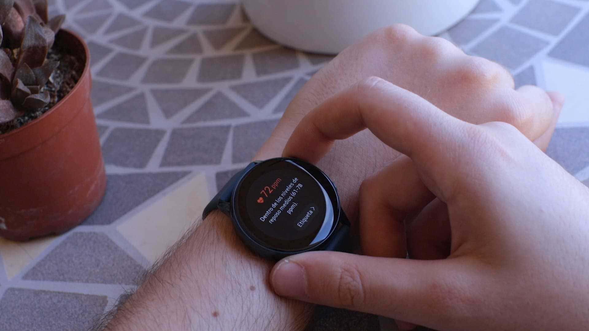 medir cardio Samsung Galaxy Watch Active
