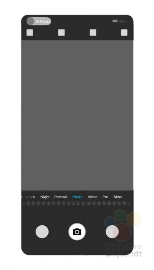 patente Huawei camara debajo pantalla 6