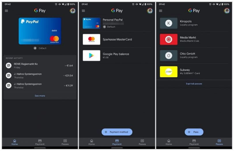 Google-Pay-dark-mode-Android-10