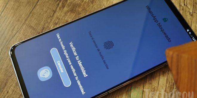 WhatsApp-huella-dactilar-Android
