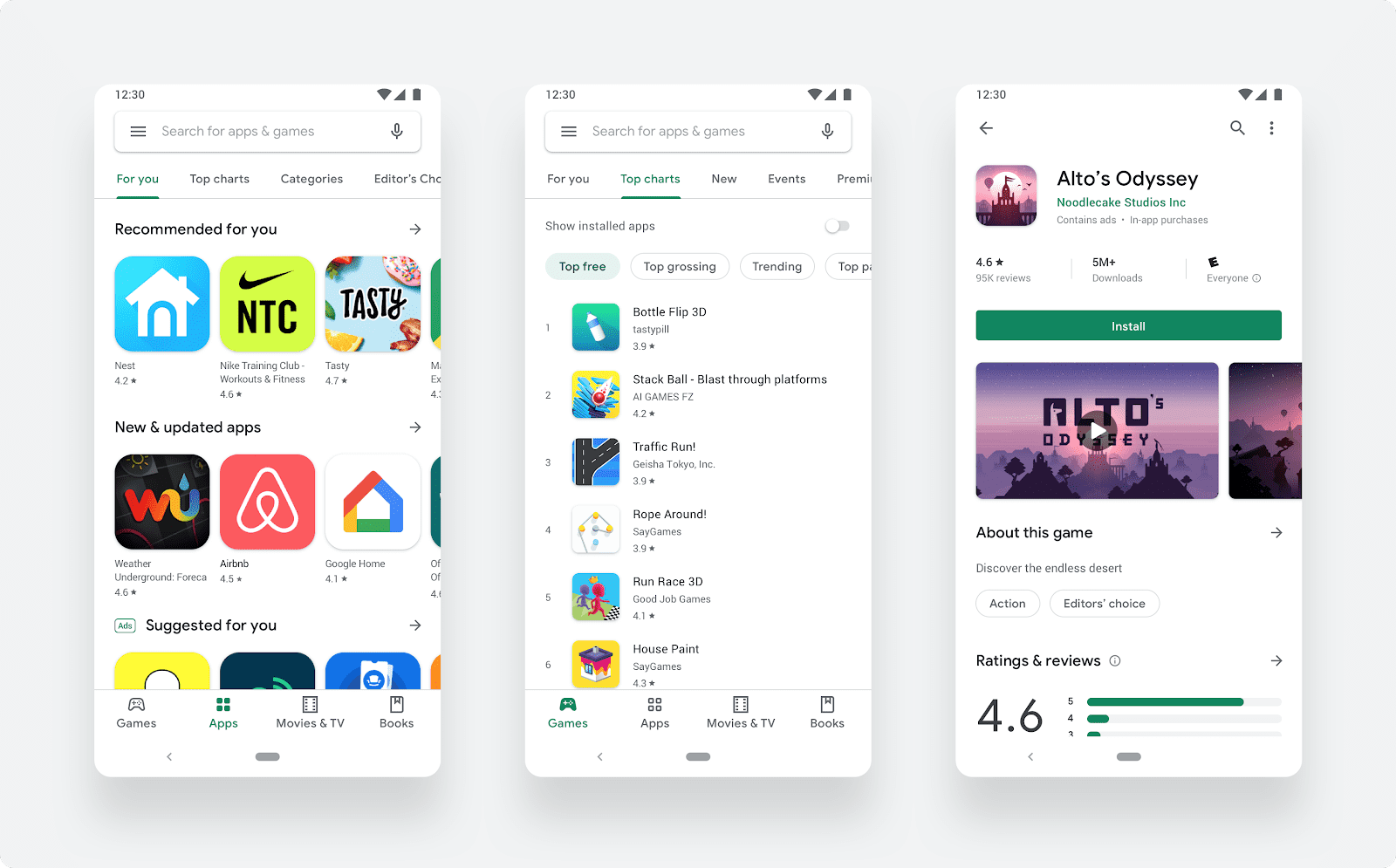 nueva-interface-Google-Play-Material-Design