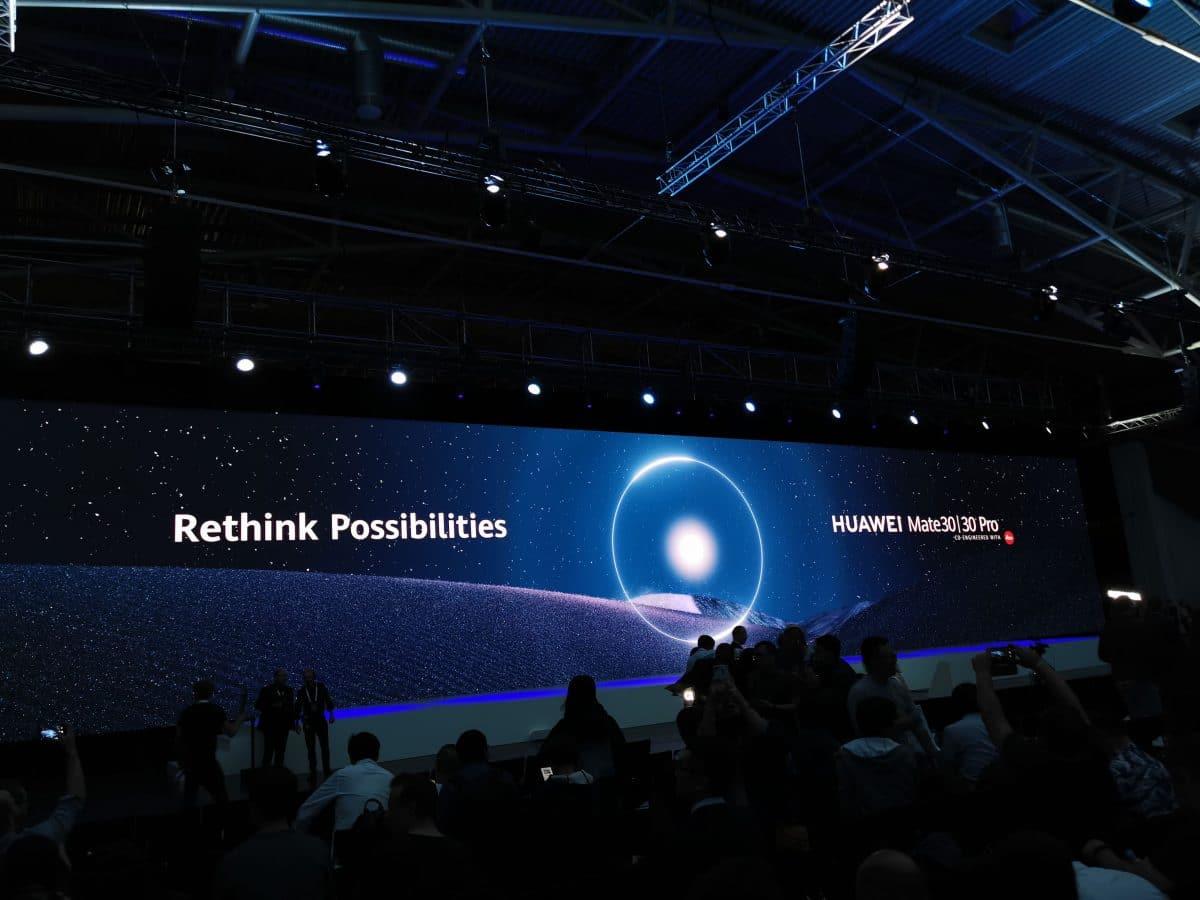 Portada presentacion Huawei Mate 30