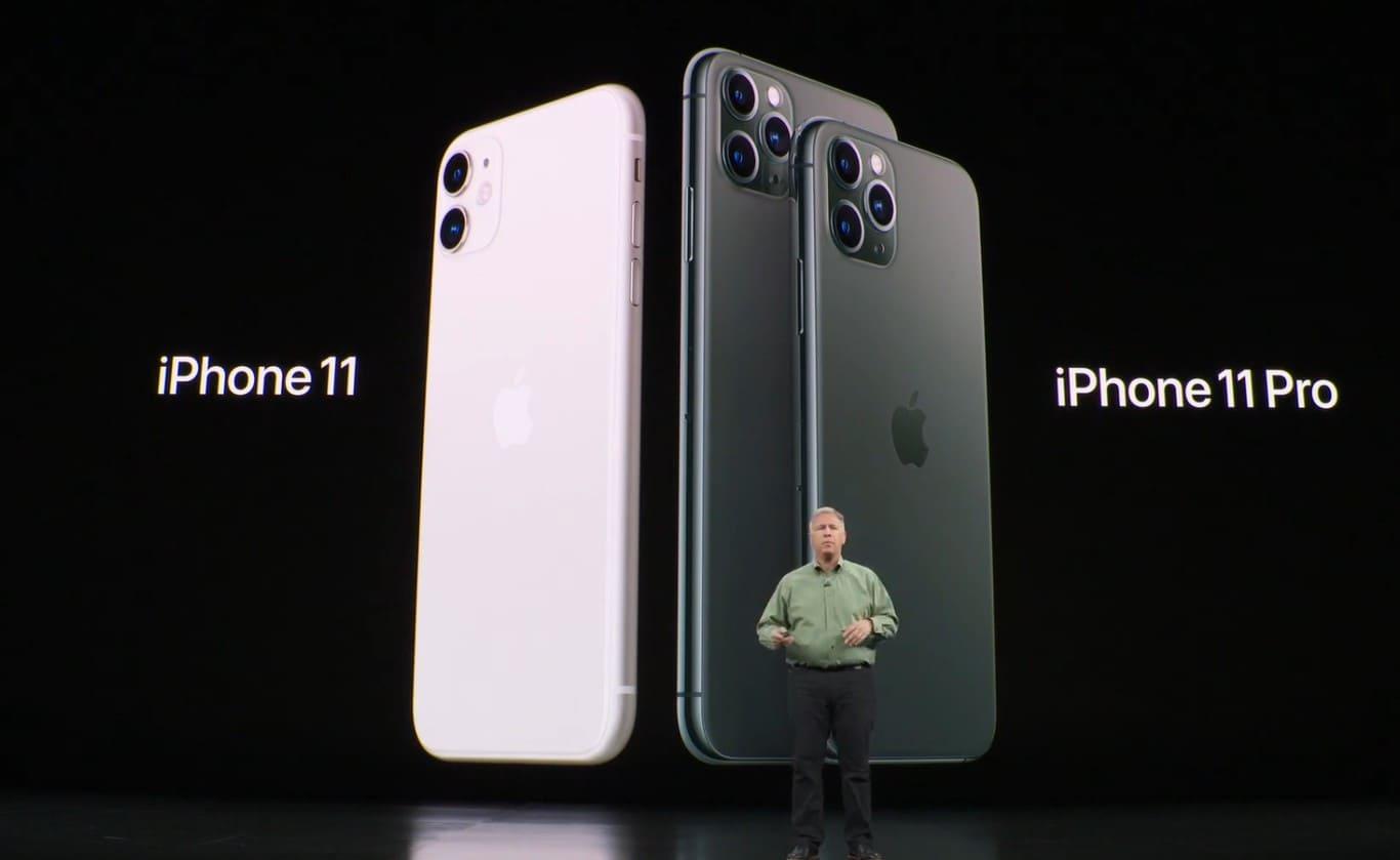 nuevos iPhone 2019 presentados