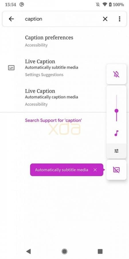 Live-Caption-configuracion