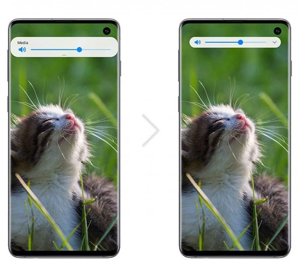 nueva-estetica-volumen-Samsung-Android-10