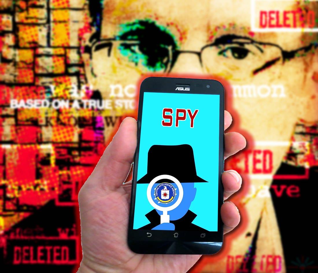 Edward Snowden smartphones espía