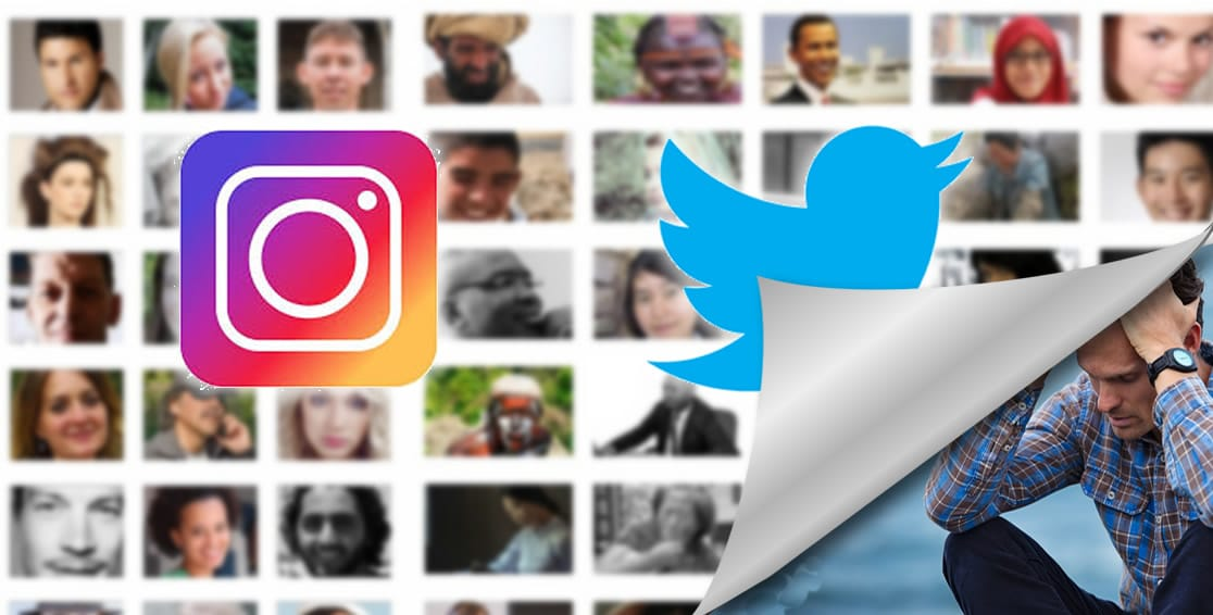 Instagram twitter problemas mentales redes sociales
