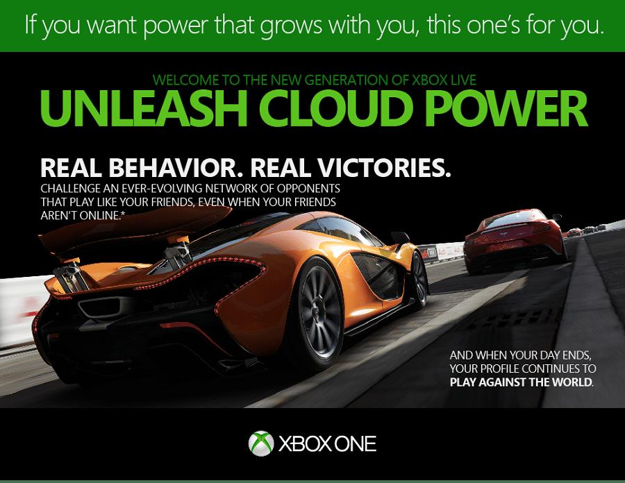 Xbox poder de la nube videojuegos