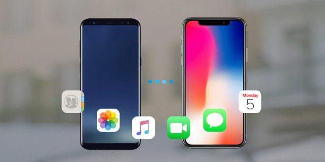 como-pasar-datos-android-iphone