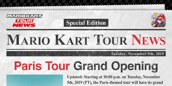 Destacada París Mario Kart Tour